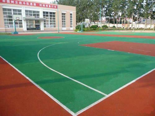 篮球场翻新维修